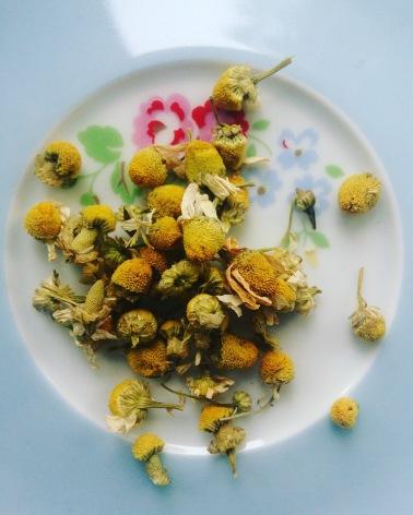 Lovely chamomile tea